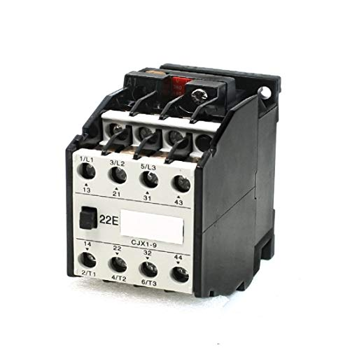 New Lon0167 380V/440V Rated Featured Coil Voltage 3 reliable efficacy Phase 2NO+2NC CJX1-9/22 Model AC Contactor(id:d69 03 b4 5fa)
