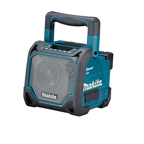 Makita DMR202 Bluetooth-Lautsprecher, 18 V, Schwarz, Blau