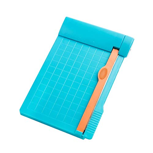Mini cortador de papel, manual de luz, recortadora de papel de papel...