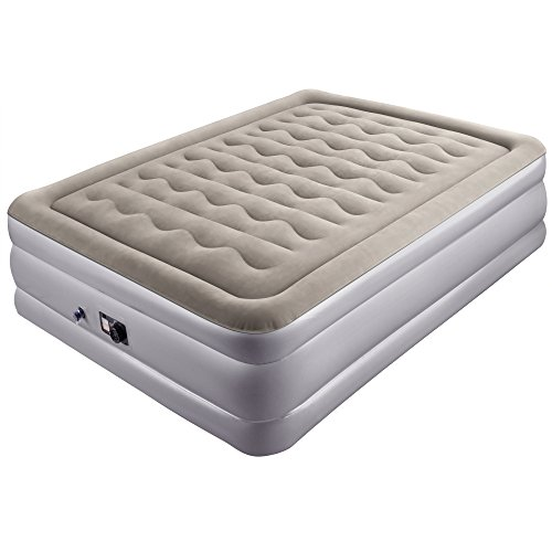 Amazing Deal Sable Air Mattress, Raised Inflatable Airbed with Built-in Electric Pump and Storage Ba...