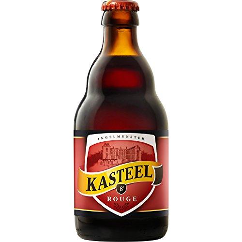 Kasteel Rouge - Kasteelbier - Bierspezialität aus Belgien 0,33l