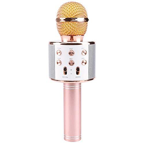 JVCAN Professionele Bluetooth draadloze microfoon, luidspreker handmicrofoon, Karaoke Mic KTV muziekspeler zangrecorder