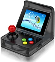 BAORUITENG Handheld Game Console, Retro Arcade Mini Game Console for Game Player with 3 Inch 512 Games 32 Bit Portable...