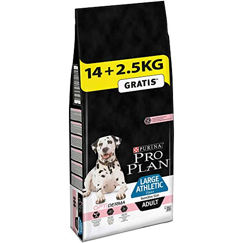 PRO PLAN - Large Athletic Adult Sensitive Skin - 14 + 2,5 kg gratuits