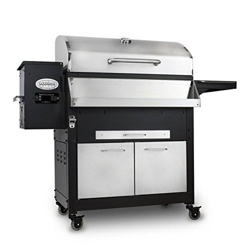 Louisiana Grills 60800 Stainless Steel Wood Pellet Grill,...