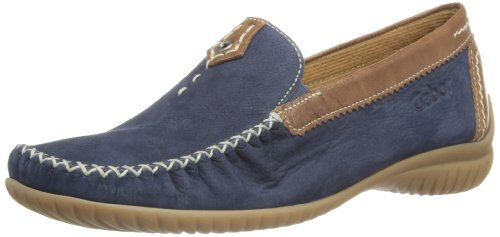 Gabor Shoes 86.090.46 Damen Mokassins ,Blau (navy/copper) ,39 EU
