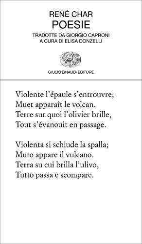 Poesie. Testo francese a fronte