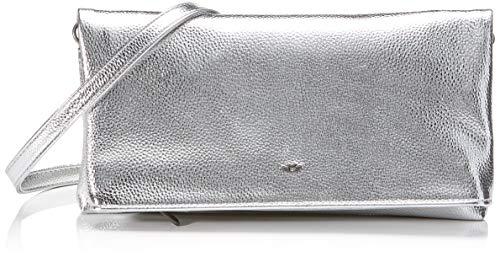 Fritzi aus Preussen Damen Ronja Clutch, Silber (Silver), 6x23x15 cm