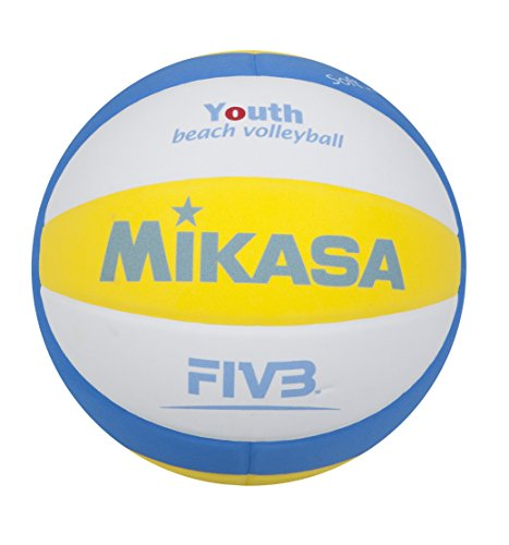 Mikasa Ball Sbv Youth Beachvolleyball, Blau/Weiß/Gelb, 5, 1629