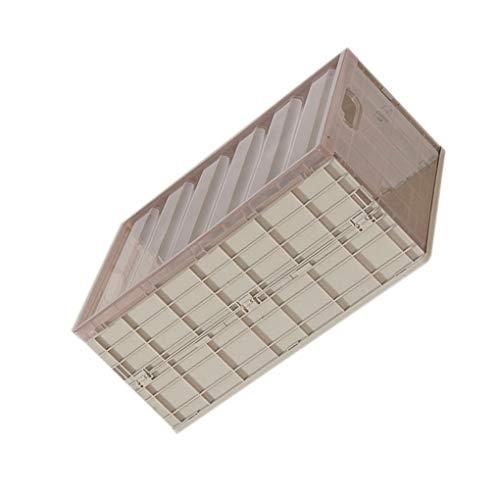 Guangcailun Caso Plegable Plegable de plástico Caja de Almacenamiento Inicio Garaje Almacén de Escritorio Armario de la Ropa Interior Organizador
