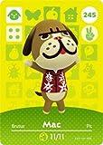 Mac - Nintendo Animal Crossing Happy Home Designer Amiibo Card - 245