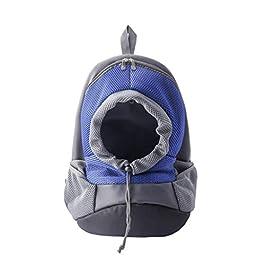 DLH Pet Backpack, Pet Backpack – Breathable Pet Backpack – Pet Travel Bag – Pet Carrier