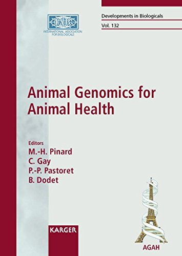 Animal Genomics for Animal Health: International Symposium, Paris, October 2007: Proceedings (Developments in Biologicals)