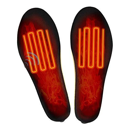 NXL Plantillas Calefactables con Mando A Distancia Inalámbrico,USB, para Calzado, Calzado, Calzado,...
