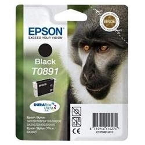 Epson - Cartucho de tinta para Stylus S20/X205/405, color negro
