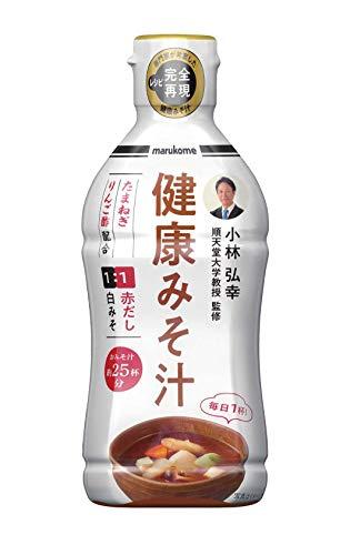 マルコメ 液みそ 健康みそ汁 【順天堂大学教授 監修】430g×4本
