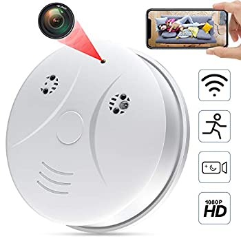 Hidden Cameras WiFi 1080P HD Baby Monitor Wireless Mini Secret Spy Cam with Motion/Night Vision for Bathroom & Home Security Nanny Cams Wireless with Cell Phone App