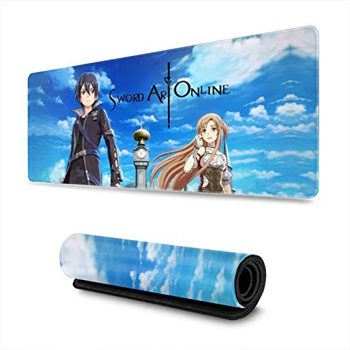 Sword Art Online Custom Mouse Pad Anime Mouse Pad Home Office Computer Gaming Mouse Pad