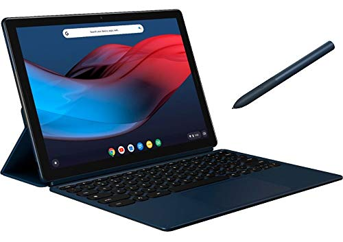 Google Pixel Slate 12.3' Touchscreen LCD Tablet w/ Keyboard and Pen | Intel 8th Generation Core M3 | 8GB Memory | 64GB SSD | Fingerprint Reader | Chrome OS | Midnight Blue