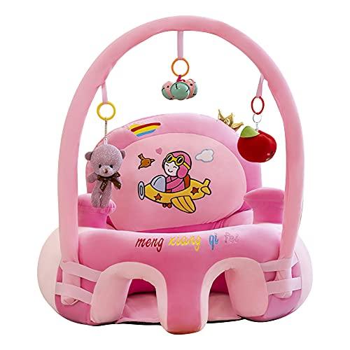 Domybest Poltroncina per Bambini Senza Riempitivo Imparare a Sedersi Poltrona per Bambini Peluche Carino Fodera Divano per Bambini Senza Cotone Supporto Divano per Bambini Peluche Fai da te