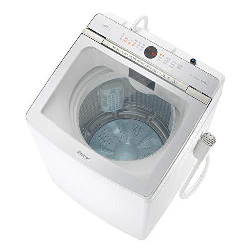 AQUA 12.0kg全自動洗濯機 Prette(プレッテ) ホワイト AQW-GVX120J(W)