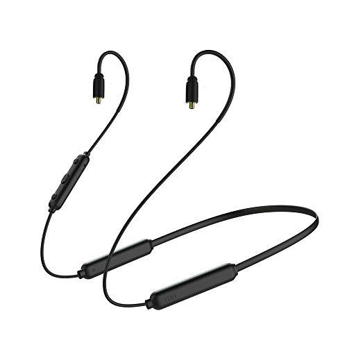 OKCSC BT3S - Cable de auriculares inalámbricos Bluetooth 5.0 compatible con Apt-x y AAC, 20 horas de reproducción, conector Bluetooth para auriculares SHURE se215 se315 etc. (conector mmcx)
