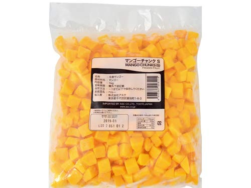 ASC 冷凍マンゴー チャンク S 1kg