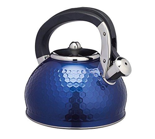 KitchenCraft LOVKETBLU - Hervidor de silbato para caballero, color azul marino