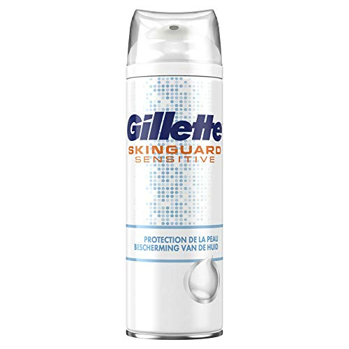 6x Gillette Scheerschuim Skinguard Sensitive 250 ml