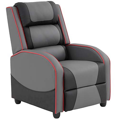Recliner Chair Gaming Recliner Gaming Chairs for Adults Video Game Chairs for Living Room Couch Gamer Chair Reclining Home Theater Seating Movie Single Sofa Furniture Comfortable