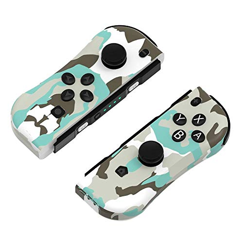 Wireless Switch Controller for Nintendo, Joy Con Controlador (L / R) for la alegría Con Bluetooth Gamepad Joystick Compatible con Nintendo Interruptor Pro (Premium Edition) ( Size : Camouflage )