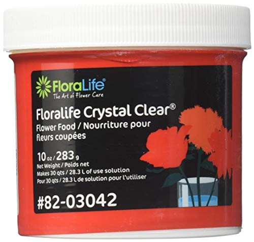 Cut Flower Food Floralife Crystal Clear 10 Ounce