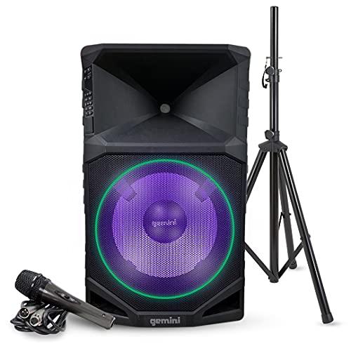 Gemini Sound GSW-T1500PK Pro Audio Wireless Rechargeable Portable Bluetooth 1500W Watts Waterproof...