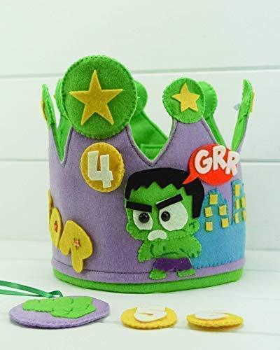 Corona Cumpleaños Hulk