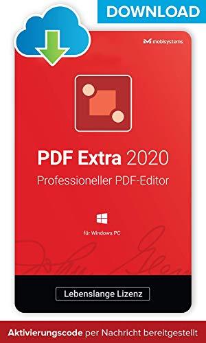 PDF Extra 2020 - DOWNLOAD / Online-Lizenz – Adobe® PDF Compatible PDF Editor –– Erstellen, Bearbeiten, Schützen, Kommentieren, Ausfüllen und Unterzeichnen von PDFs - 1 Benutzer / Lebenszeit-Lizenz