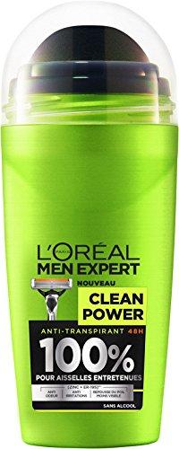 L'Oréal Men Expert Desodorante Bille Clean Power hombre sin alcohol