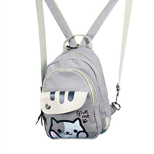 Cute Anime cat Multifunctional Shoulder Bag Knapsack Japanese Game Cat Backpack