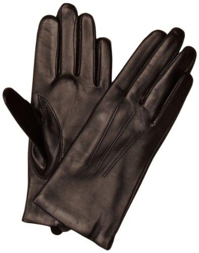 Dents Damen Handschuh - Schwarz - Schwarz - 34 (Herstellergröße: 8 UK)