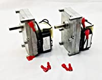 Pellethead 2 Pack for Englander 1RPM Pellet Stove Auger Motor PU-047040 PH-CCW1- Top and Bottom Auger Motor by legendary Pellethead