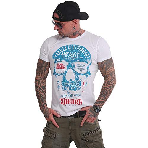 Yakuza Herren Through Skull T-Shirt