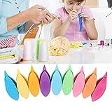 Juego de lanzaderas de frivolité, plástico colorido, 9 unids/set, mano de obra fina, herramienta de tejido de lanzadera de frivolité para encaje, bricolaje, herramienta artesanal para