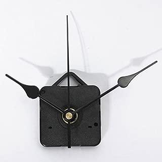 Clocks - Black Hands Quartz Clock Wall Movement Diy Mechanism Repair Tool - Quartz Clock Movement Parts Replacement Mechanism Movements Battery Operated Motors Powered Motor Hands - 1PCs