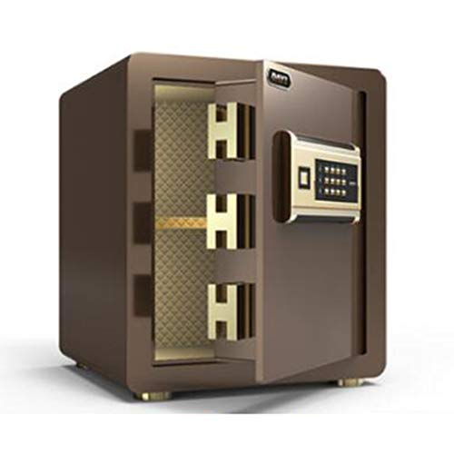 Veiligheid Veilig, High Security Electronic Digital Safe, Wall of kabinet Verankering Ontwerp Steel Alloy kluis met digitaal slot,Brown