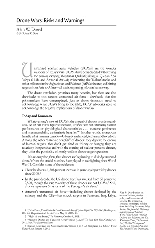 Drone Wars: Risks and Warnings (English Edition)