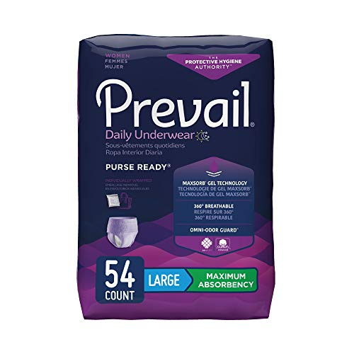 Prevail Protective Underwear for Women,...