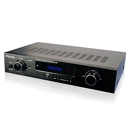 Bluetooth Stereo Receiver w/Phono by AVX Audio, BTA-3000