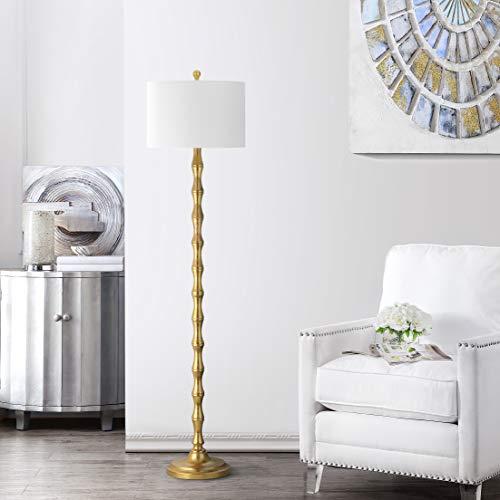 Safavieh Lighting Collection Aurelia Antique Gold 63.5-inch Floor Lamp