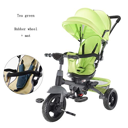 Best Prices! YUMEIGE Kids' Tricycles Kids Tricycle1-6 Years Old Birthday Gift Kids Strollers Toddler...