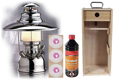 Petromax HK 500 Original Kiste viel Zubehör Petroleumlampe Outdoor Laterne