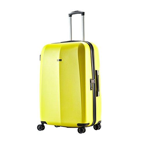 100% Polycarbonat Abistab® Kaiseki Premium Hartschalen Koffer Rosegold 2er Set S-47cm(18,5')+L-71cm(28') aus PC Kratzfest Trolley Suitcase Reisekoffer 4 Doppelräder, TSA Schloss
